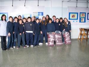 Alumnos de 6to año de escuela