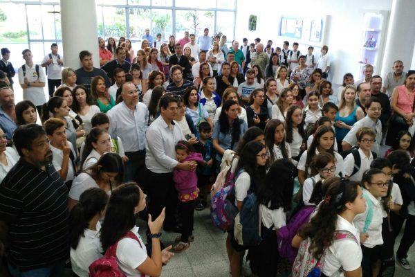 recibimiento de generación 2018 liceo logosófico
