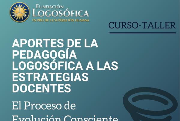 curso taller pedagogía logosófica pedagogia logosofica